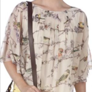 "Ted Baker London 1 S Dolman Branch Blouse ""Brooky"""